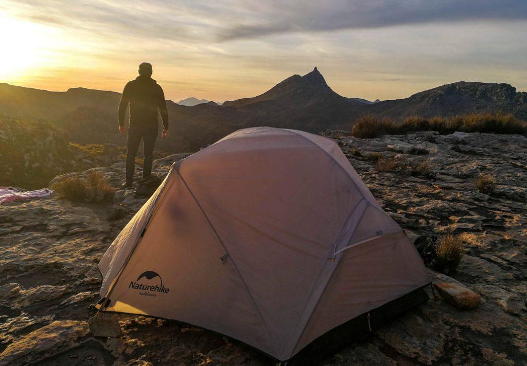 Naturehike - test stanu Mongar v jižní Africe